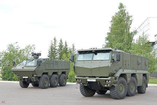 """КАМАЗ-63969 и КАМАЗ-63968 семейства """"Тайфун-К"""""""