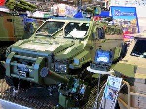 """Многофункциональный бронетранспортер (БТР) VARAN APC, оснащенный боевым модулем высокоточного оружия """"Сармат"""" (фото ukroboronprom.com.ua)"""