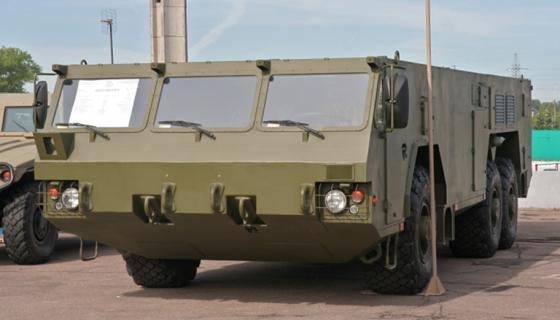 """Колесное шасси МЗКТ-6922 """"Тетраэдр"""" (фото http://ausairpower.net/)"""