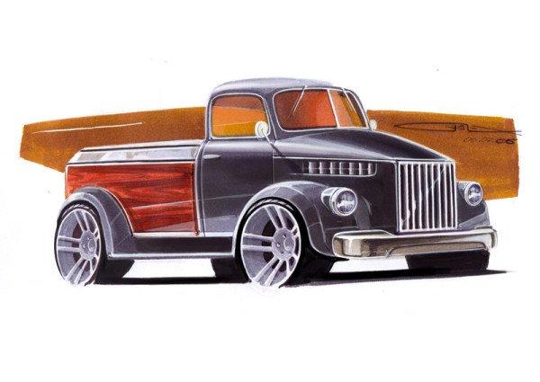 Pemespiba ГАЗ-51 Hot Rod (фото www.cardesign.ru)