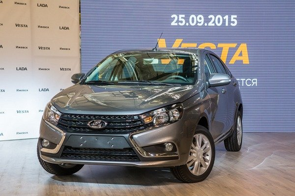 Lada Vesta получит двигатель объемом 1,8 литра и мощностью 122,5 л.с.