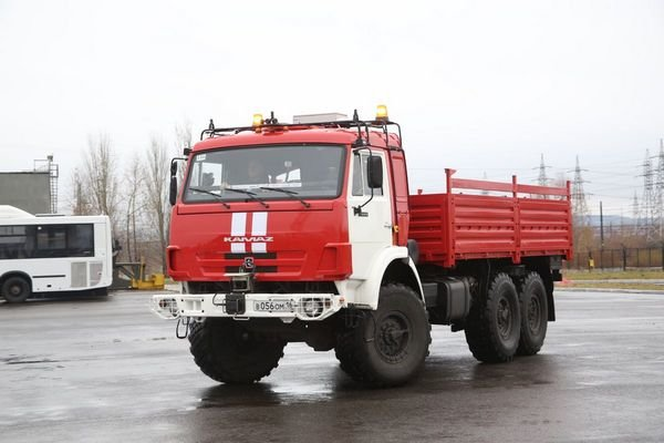 беспилотник на базе КАМАЗ-5350 (фото ПАО «КАМАЗ»)