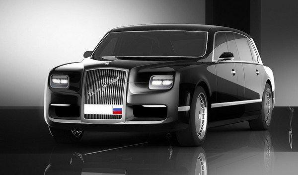эскизы лимузина проекта «Кортеж» (фото auto.mail.ru)