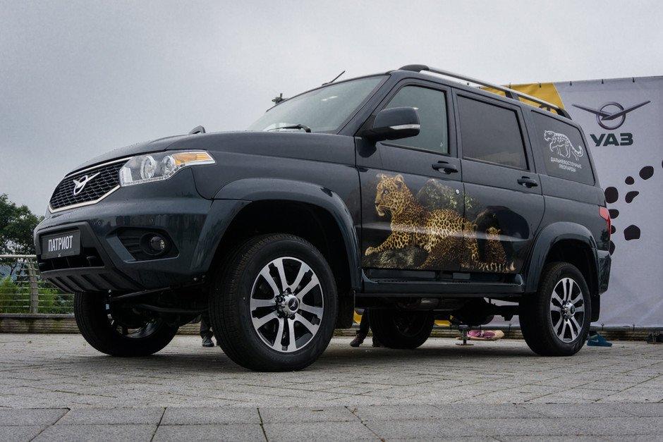 УАЗ-Патриот 2017 модельного года (фото УАЗ)